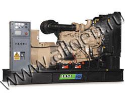 Дизель электростанция AKSA AC-350 мощностью 350 кВА (280 кВт) на раме