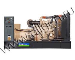 Дизель электростанция AKSA AC-550 мощностью 550 кВА (440 кВт) на раме