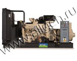 Дизель электростанция AKSA ACQ-550 мощностью 550 кВА (440 кВт) на раме