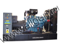 Дизель электростанция AKSA AD-550 мощностью 550 кВА (440 кВт) на раме