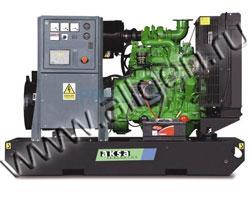 Дизель электростанция AKSA AJD-33 мощностью 33 кВА (26 кВт) на раме