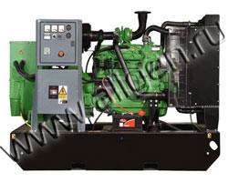 Дизель генератор AKSA APD-30C мощностью 30 кВА (24 кВт) на раме