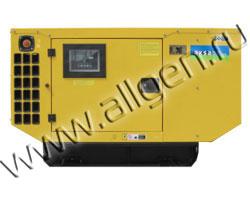 Дизель генератор AKSA APD-30C мощностью 30 кВА (24 кВт) в шумозащитном кожухе