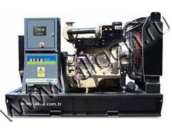 Дизель электростанция AKSA APD-33A мощностью 33 кВА (26 кВт) на раме