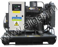 Дизель электростанция AKSA APD-33M мощностью 33 кВА (26 кВт) на раме
