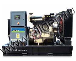 Дизель электростанция AKSA APD-88P мощностью 88 кВА (70 кВт) на раме
