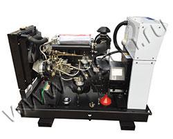 Дизельный генератор АМПЕРОС АД12-Т400 мощностью 16 кВА (13 кВт) на раме