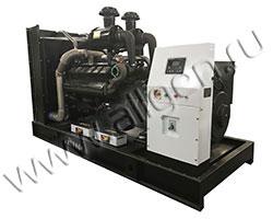 Дизель электростанция АМПЕРОС АД400-Т400 мощностью 550 кВА (440 кВт) на раме