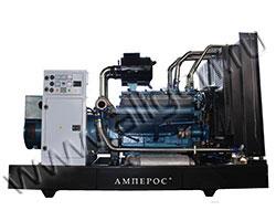 Дизельный генератор АМПЕРОС АД24-Т400 мощностью 33 кВА (26 кВт) на раме