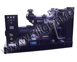 Дизель электростанция АМПЕРОС АД400-Т400P мощностью 550 кВА (440 кВт) на раме
