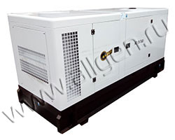 Дизельный генератор АМПЕРОС АД12-Т400 мощностью 16 кВА (13 кВт) в шумозащитном кожухе