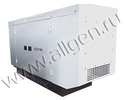 Дизельный генератор АМПЕРОС АД60-Т400 мощностью 82 кВА (66 кВт) в шумозащитном кожухе