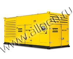 Дизель генератор Atlas Copco QAC 500 мощностью 556 кВА (444 кВт) в шумозащитном кожухе