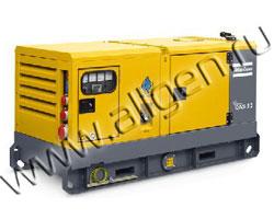 Дизель генератор Atlas Copco QAS 30 мощностью 34 кВА (27 кВт) в шумозащитном кожухе