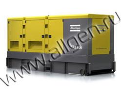 Дизель генератор Atlas Copco QAS 500 мощностью 556 кВА (444 кВт) в шумозащитном кожухе