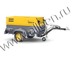 Дизель генератор Atlas Copco QAX 30 мощностью 33 кВА (27 кВт) в шумозащитном кожухе