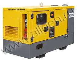 Дизель генератор Atlas Copco QES 30 мощностью 33 кВА (26 кВт) в шумозащитном кожухе