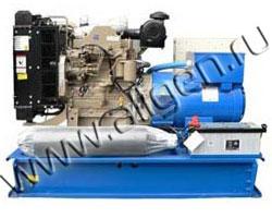 Дизель электростанция Ausonia CU0080SWD мощностью 88 кВА (70 кВт) на раме