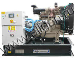 Дизель электростанция Ausonia JO0030SWD мощностью 33 кВА (26 кВт) на раме