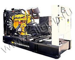 Дизель электростанция Broadcrown BCC 350-50 мощностью 350 кВА (280 кВт) на раме