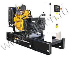 Дизель электростанция Broadcrown BCJD 32-50 мощностью 32 кВА (26 кВт) на раме