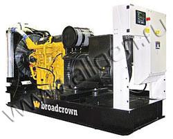 Дизель электростанция BroadCrown BCV 350-50 мощностью 347 кВА (277 кВт) на раме