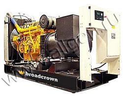 Дизель электростанция Broadcrown BCMU 495P-50 E3A мощностью 545 кВА (436 кВт) на раме