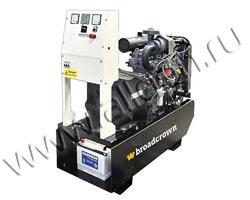 Дизельный генератор Broadcrown BCL 16-50 мощностью 18 кВА (14 кВт) на раме