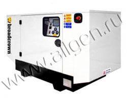 Дизель генератор Broadcrown BCM 33-50 E2 мощностью 33 кВА (26 кВт) в шумозащитном кожухе