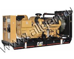 Дизель электростанция Caterpillar C-18 мощностью 550 кВА (440 кВт) на раме