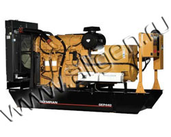 Дизель электростанция Caterpillar GEP350-1 мощностью 350 кВА (280 кВт) на раме