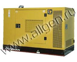 Дизель генератор Caterpillar GEP18-4 мощностью 18 кВА (14 кВт) в шумозащитном кожухе