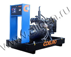 Дизель электростанция Coelmo FDT32A мощностью 33 кВА (26 кВт) на раме