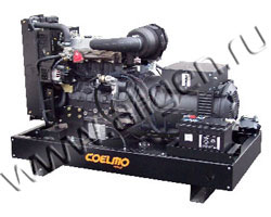 Дизель электростанция Coelmo PDT113TG3 мощностью 50 кВА (40 кВт) на раме