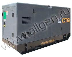 Дизель генератор CTG AD-13YA мощностью 13 кВА (10 кВт) в шумозащитном кожухе