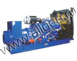 Дизель электростанция CTM C.500 мощностью 550 кВА (440 кВт) на раме