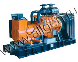 Дизель электростанция CTM I.300 мощностью 333 кВА (266 кВт) на раме