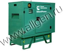 Дизель генератор Cummins C11 D5 мощностью 11 кВА (9 кВт) в шумозащитном кожухе