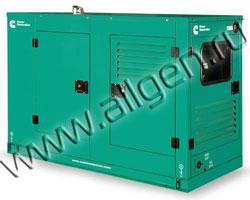 Дизель генератор Cummins C17 D5 мощностью 17 кВА (14 кВт) в шумозащитном кожухе