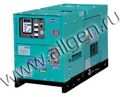 Дизель генератор Denyo DCA-25ESK  мощностью 22 кВА (18 кВт) в шумозащитном кожухе