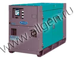 Дизель генератор Denyo DCA-60ESI2  мощностью 55 кВА (44 кВт) в шумозащитном кожухе
