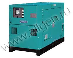 Дизель генератор Denyo DCA-35SPK мощностью 33 кВА (26 кВт) в шумозащитном кожухе