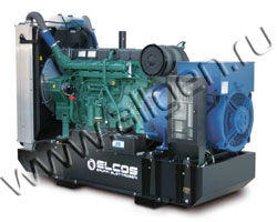 Дизель электростанция Elcos GE.AI.335\300.BF/SS мощностью 335 кВА (268 кВт) на раме