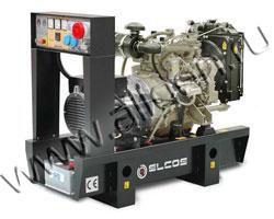 Дизель электростанция Elcos GE.PK.033\030.BF/SS мощностью 33 кВА (26 кВт) на раме
