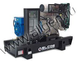 Дизель электростанция Elcos GE.YA.047\044.BF/SS мощностью 47 кВА (38 кВт) на раме