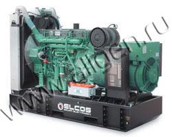 Дизель электростанция Elcos GE.MT.335\305.BF/SS мощностью 335 кВА (268 кВт) на раме
