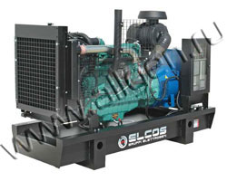 Дизель электростанция Elcos GE.JD3A.087\080.BF/SS мощностью 87 кВА (70 кВт) на раме