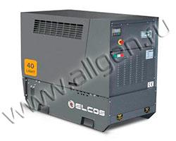 Дизель генератор Elcos GE.YA.047\044.LT мощностью 47 кВА (38 кВт) в шумозащитном кожухе