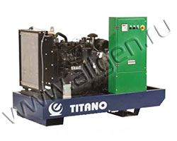 Дизель электростанция Elentek TITANO 12 L мощностью 12 кВА (10 кВт) на раме