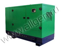 Дизель генератор Elentek TITANO 33 JD-0 мощностью 33 кВА (26 кВт) в шумозащитном кожухе